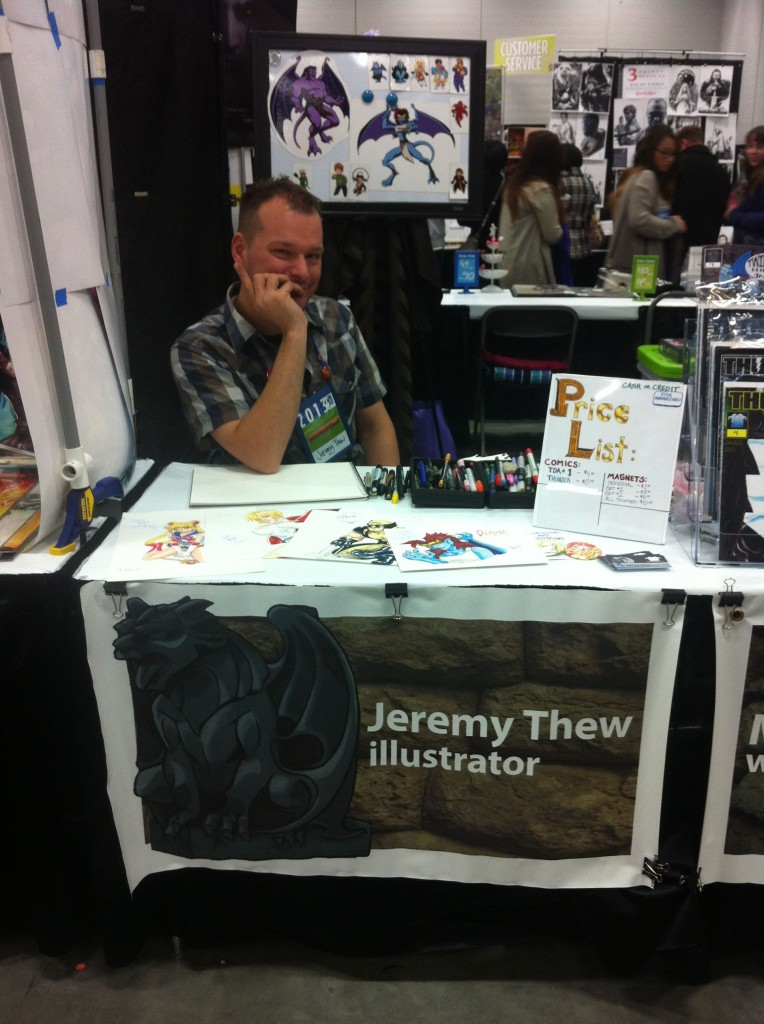Jeremy at Edmonton Expo!