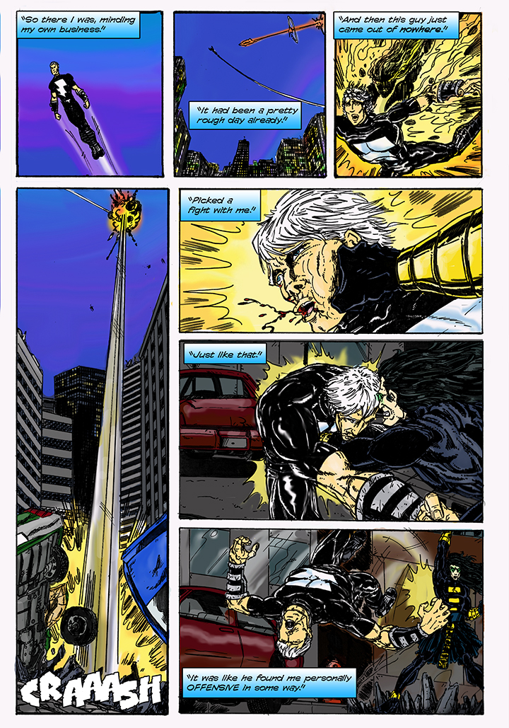 Thunder #2 Page 1