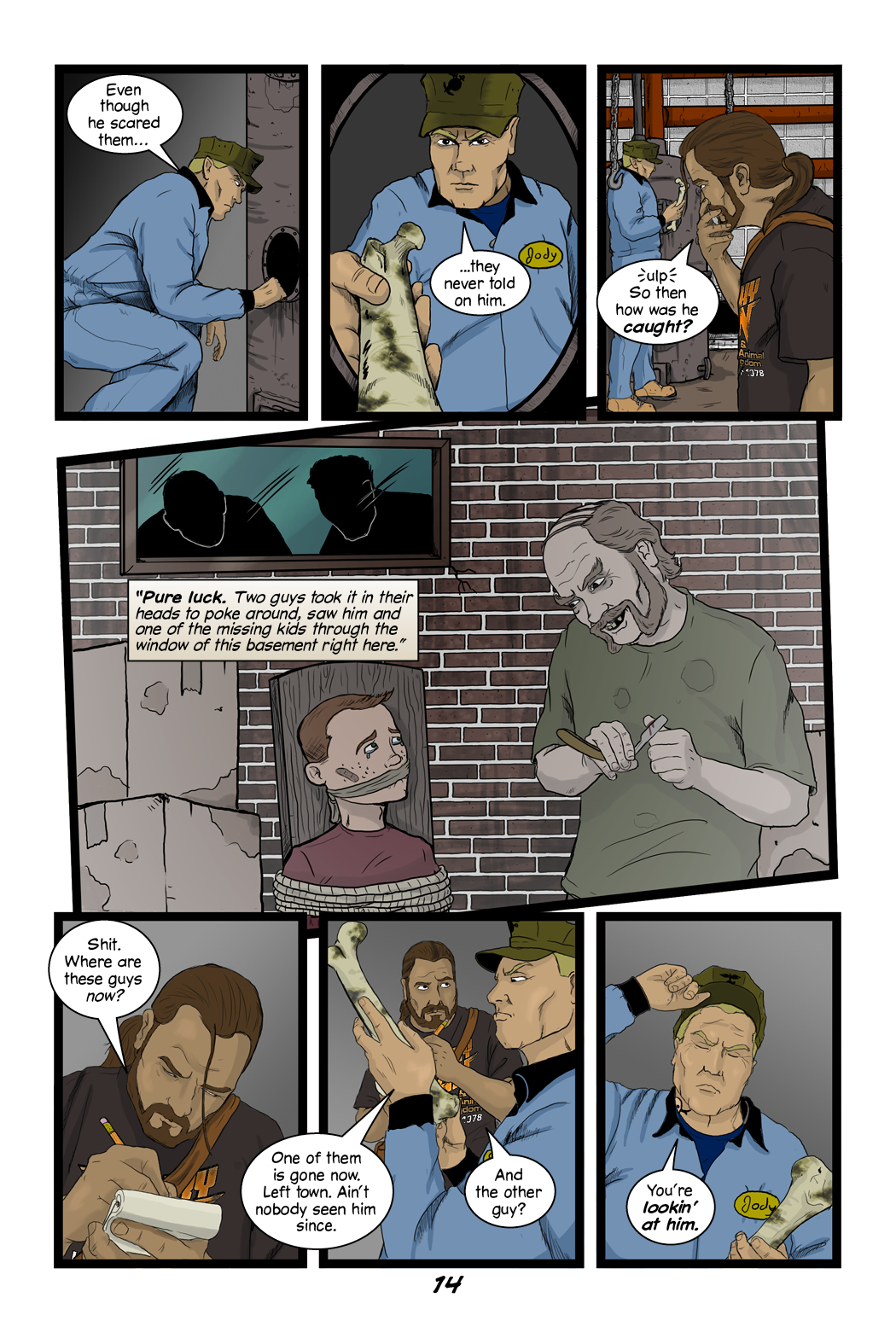 Gloaming #2 Page 14