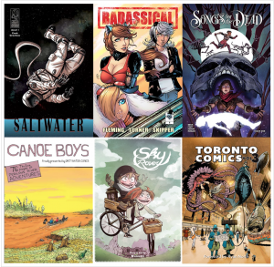 Covers for the 2017 Gene Day Award Nominees